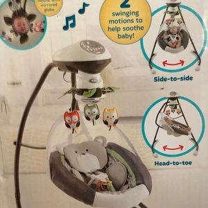 Brand new Fisher Price Swing and Cradle